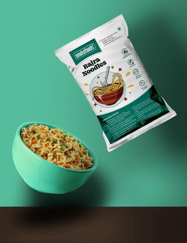 Bajra noodles